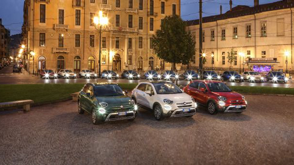 The New Fiat 500X sets Turin alight