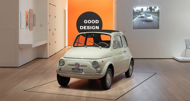 Fiat 500 in the Spotlight at the MoMA in New York